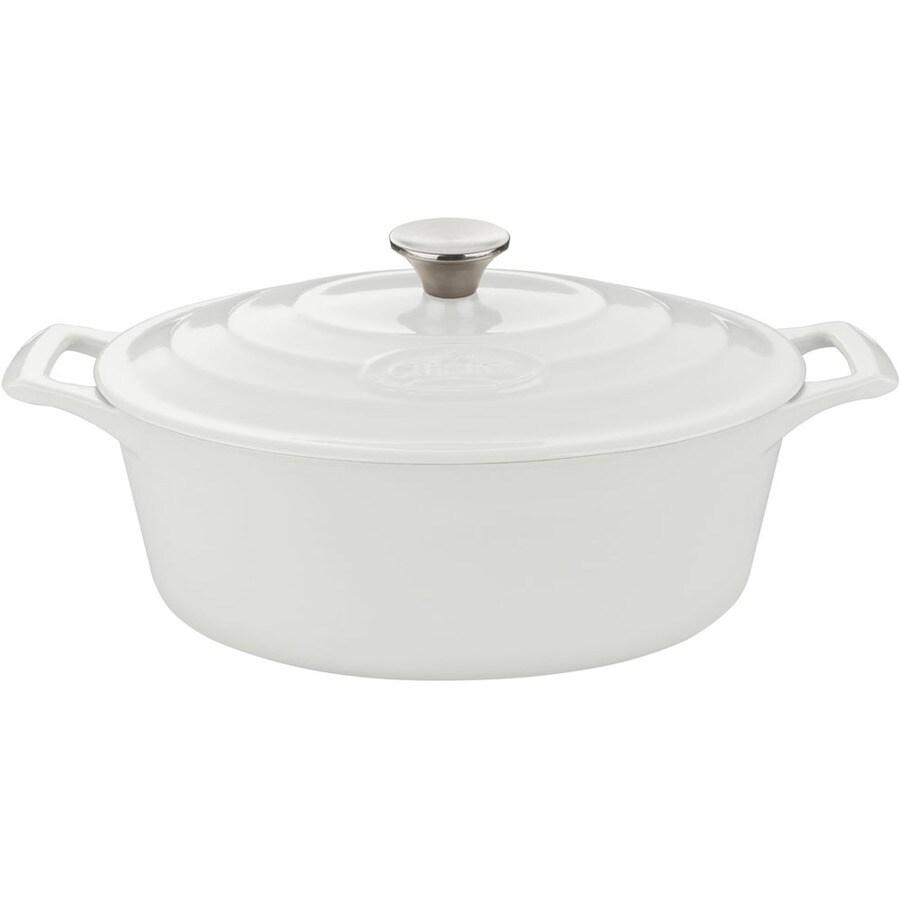 La Cuisine 4.75-Quart Cast Iron Dutch Oven with Lid