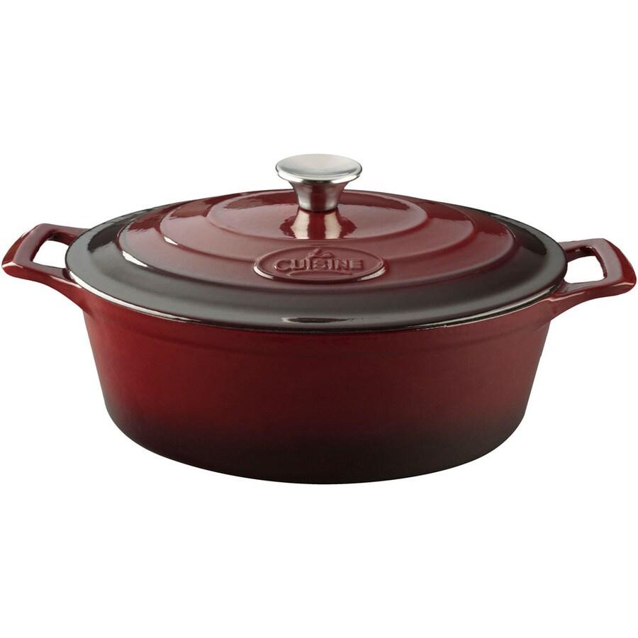 La Cuisine 6.75-Quart Cast Iron Dutch Oven with Lid
