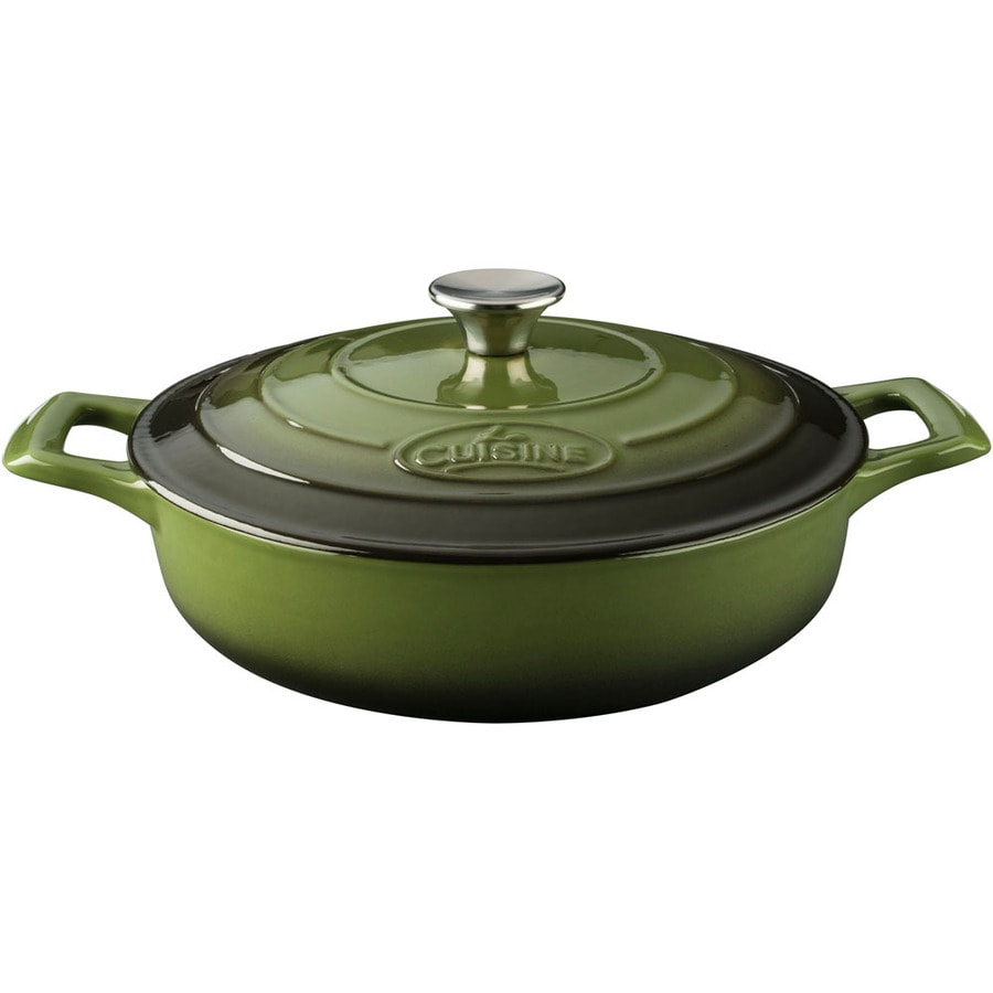 La Cuisine 3.75-Quart Cast Iron Dutch Oven with Lid