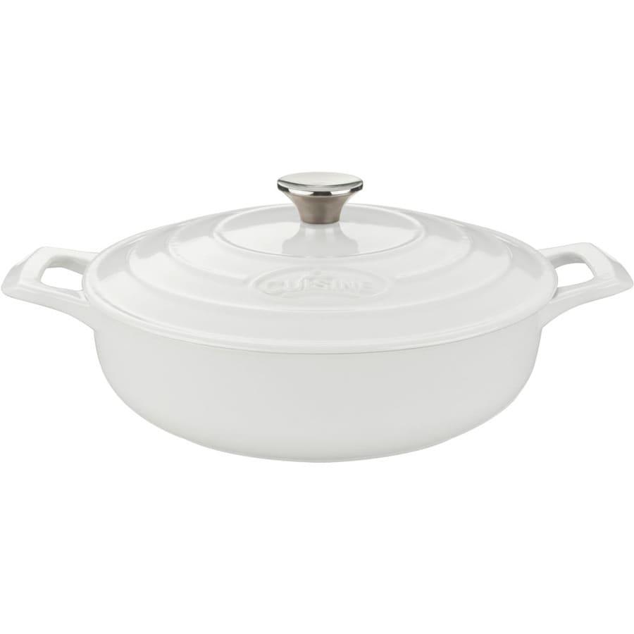 La Cuisine 3.75-Quart Cast Iron Dutch Oven with Lid