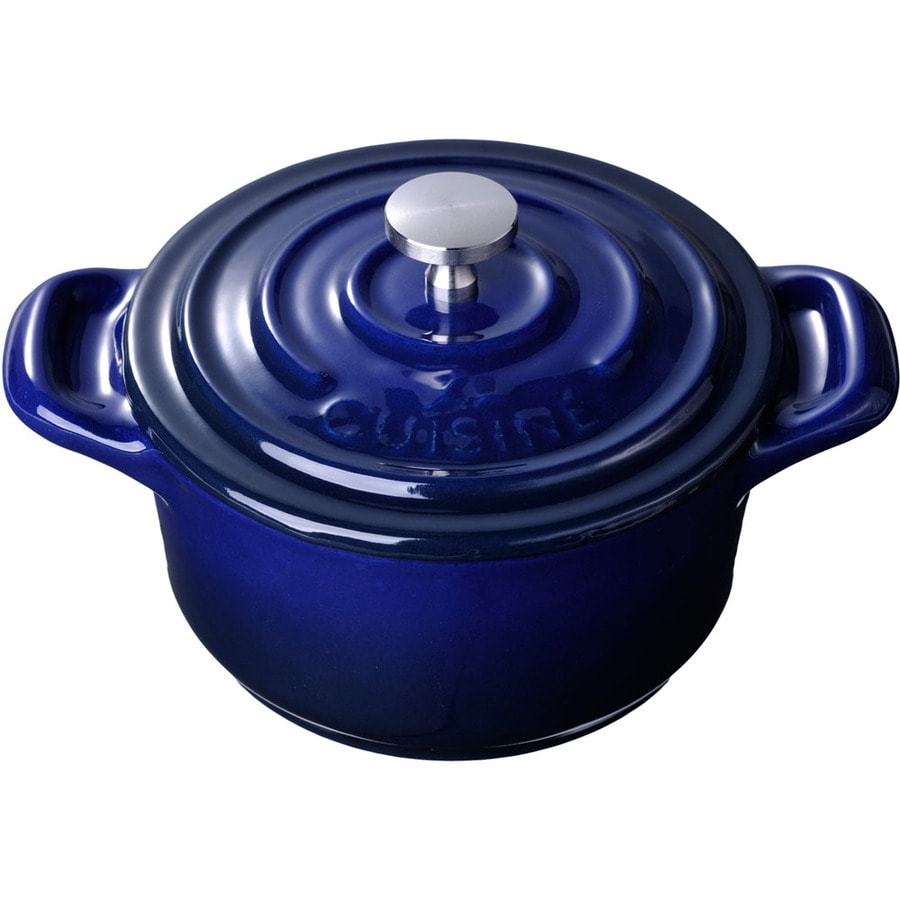 La Cuisine 0.3125-Quart Cast Iron Dutch Oven with Lid