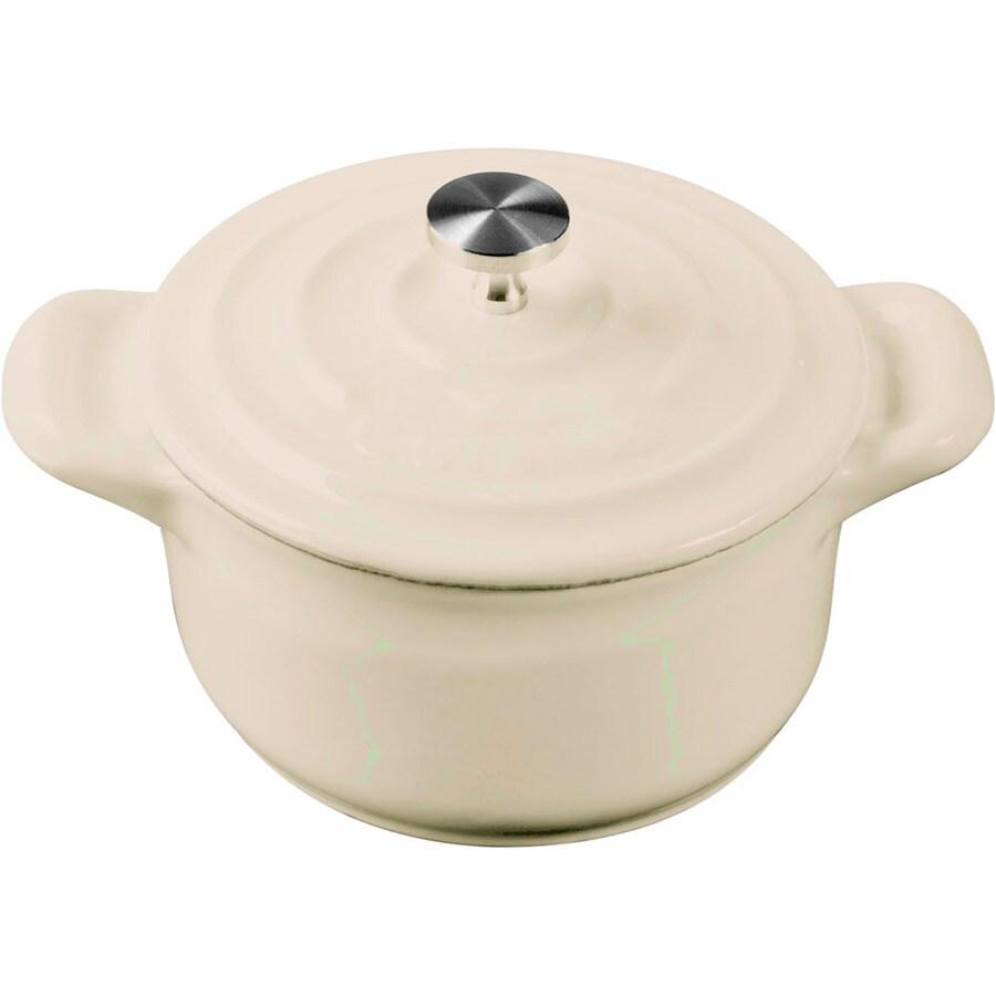 La Cuisine 0.3125-Quart Cast Iron Dutch Oven with Lid