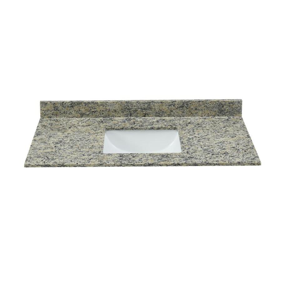 Light Colored Granite For Bathroom: Bestview Santa Cecilia Light Brown/Polished Granite