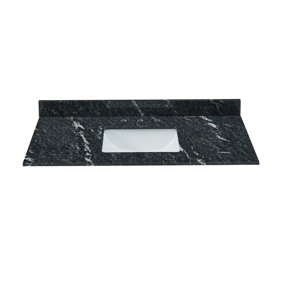 Bestview Thunder Black Granite Undermount Single Sink
