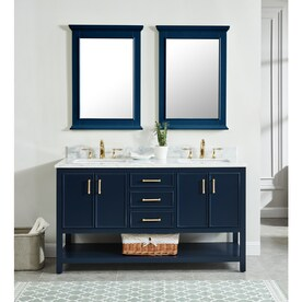 Enjoyable Blue Bathroom Vanities With Tops At Lowes Com Download Free Architecture Designs Scobabritishbridgeorg