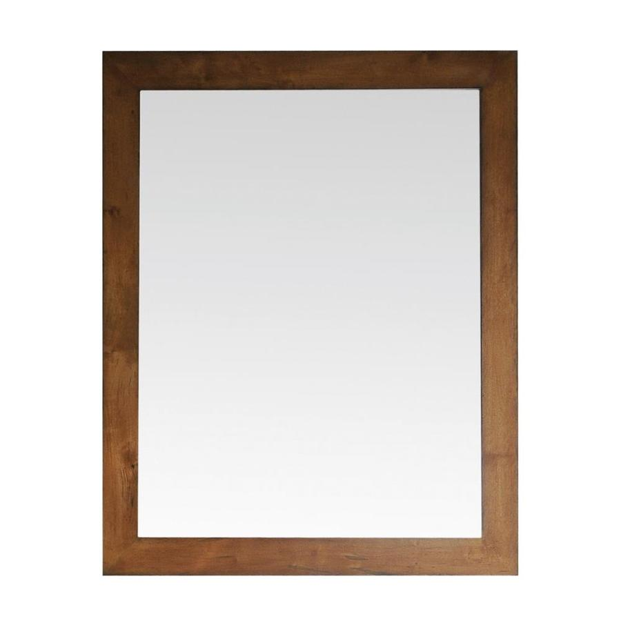 36 x 30 mirror for bathroom shop avanity legacy 36 in x 30 in golden burl rectangular 24765