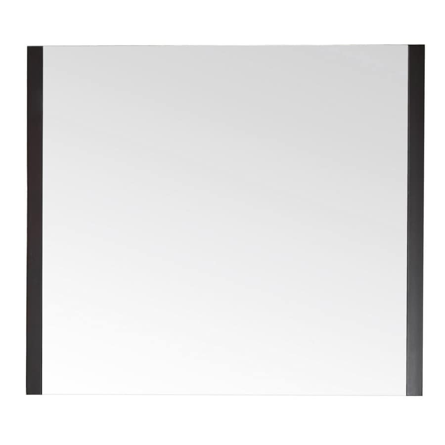 Avanity 31-1/2-in H x 36-in W Loft Dark Walnut Rectangular Bathroom Mirror