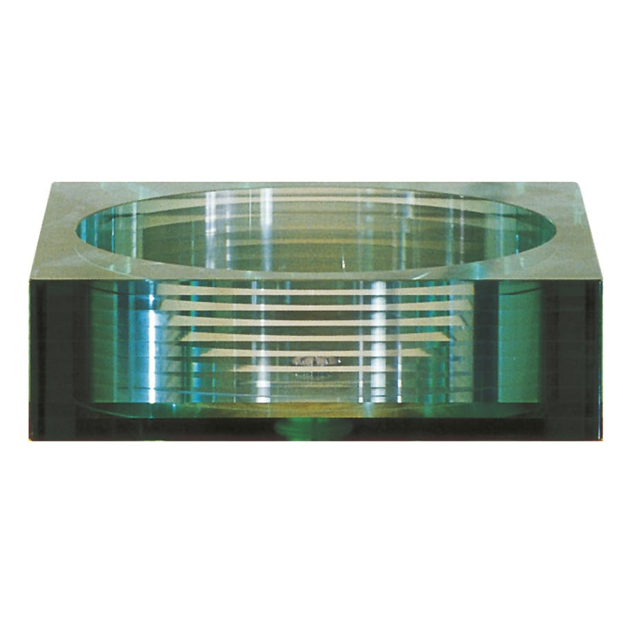 Avanity clear tempered glass vessel square bathroom sink - Bathroom tempered glass vessel sink ...