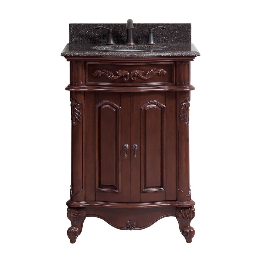 Shop Avanity Provence Antique Cherry Undermount Single