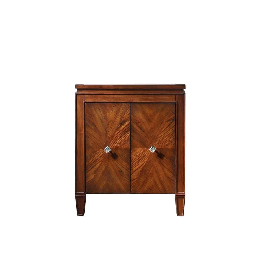 Avanity Brentwood New Walnut Bathroom Vanity (Common: 25-in x 21-in; Actual: 25-in x 21-in)