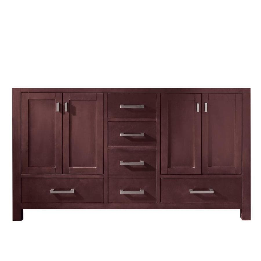 Avanity Modero Espresso Transitional Bathroom Vanity (Common: 60-in x 21-in; Actual: 60-in x 21-in)