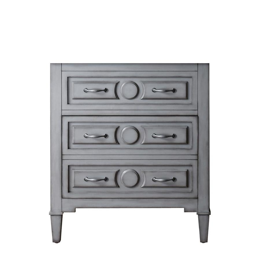Avanity Kelly Freestanding Grayish Blue Bathroom Vanity (Common: 30-in x 21-in; Actual: 30-in x 21-in)