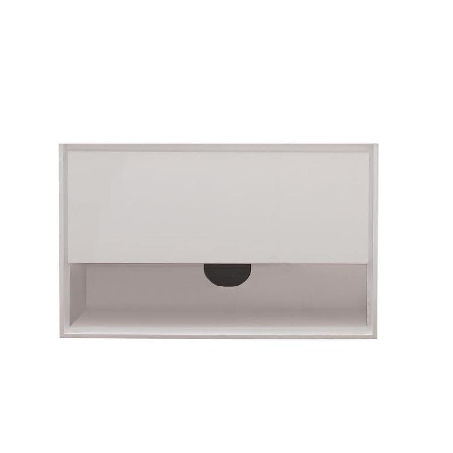 Avanity Sonoma White (Common: 38-in x 20-in) Contemporary Bathroom Vanity (Actual: 39-in x 20.3-in)