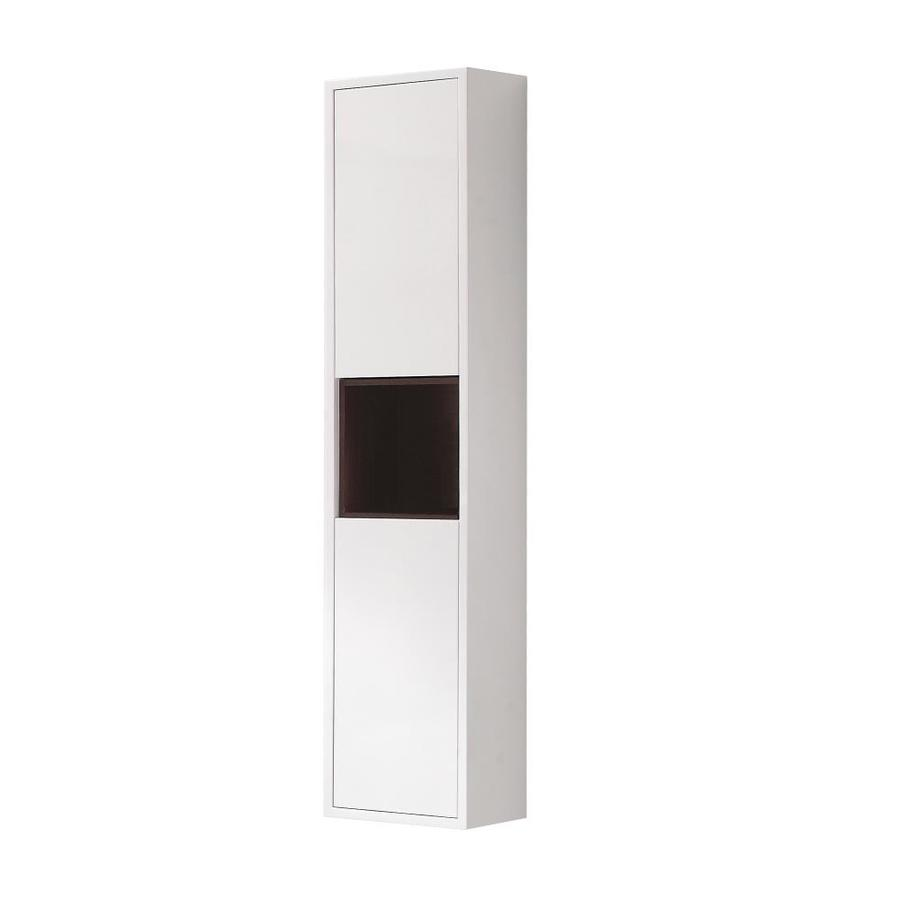 Avanity Sonoma 11.8-in W x 55.1-in H x 8.7-in D White Mdf Wall-mount Linen Cabinet