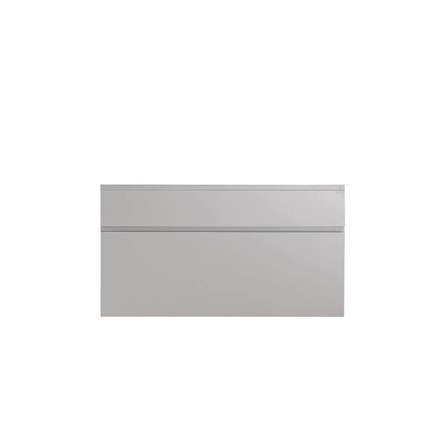 Avanity Tribeca Wall-mount Chilled Gray Bathroom Vanity (Common: 36-in x 22-in; Actual: 36-in x 21.5-in)