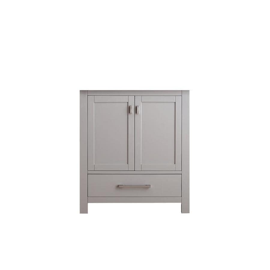Shop Avanity Modero Chilled Gray Transitional Bathroom