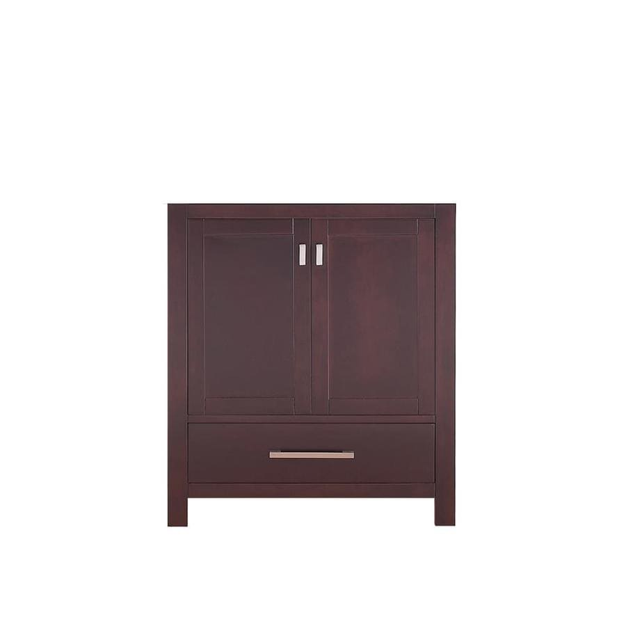 Avanity Modero Espresso Transitional Bathroom Vanity (Common: 30-in x 21-in; Actual: 30-in x 21-in)