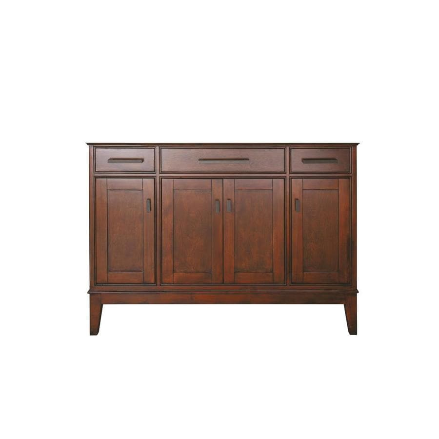 Shop Avanity Madison Freestanding Tobacco Bathroom Vanity