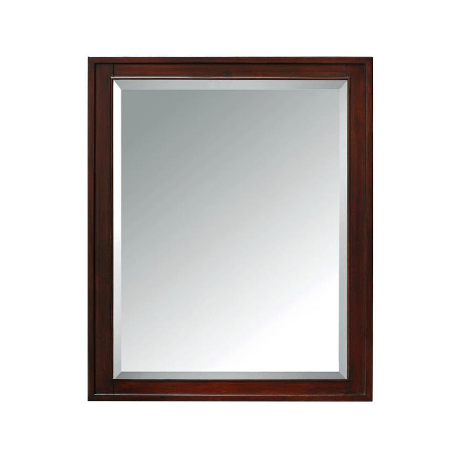 Avanity Madison 28 In X 36 Rectangle Surface Poplar Mirrored Wood Medicine Cabinet