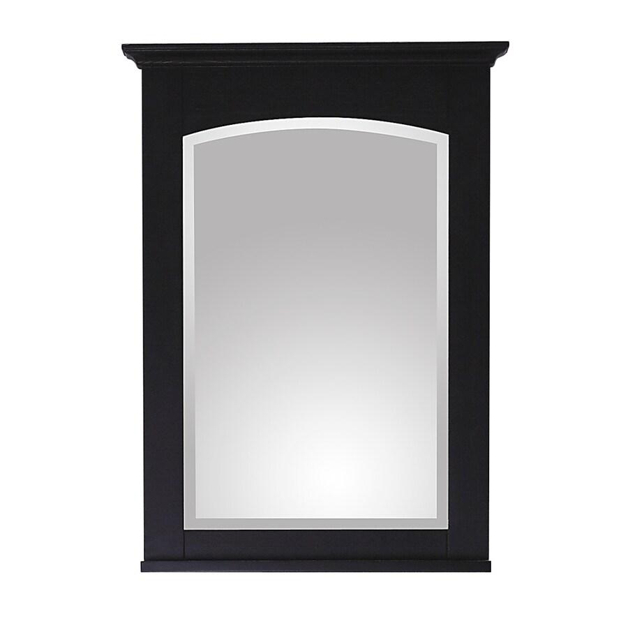 Avanity Westwood 24-in W x 33-in H Ebony Square Bathroom Mirror