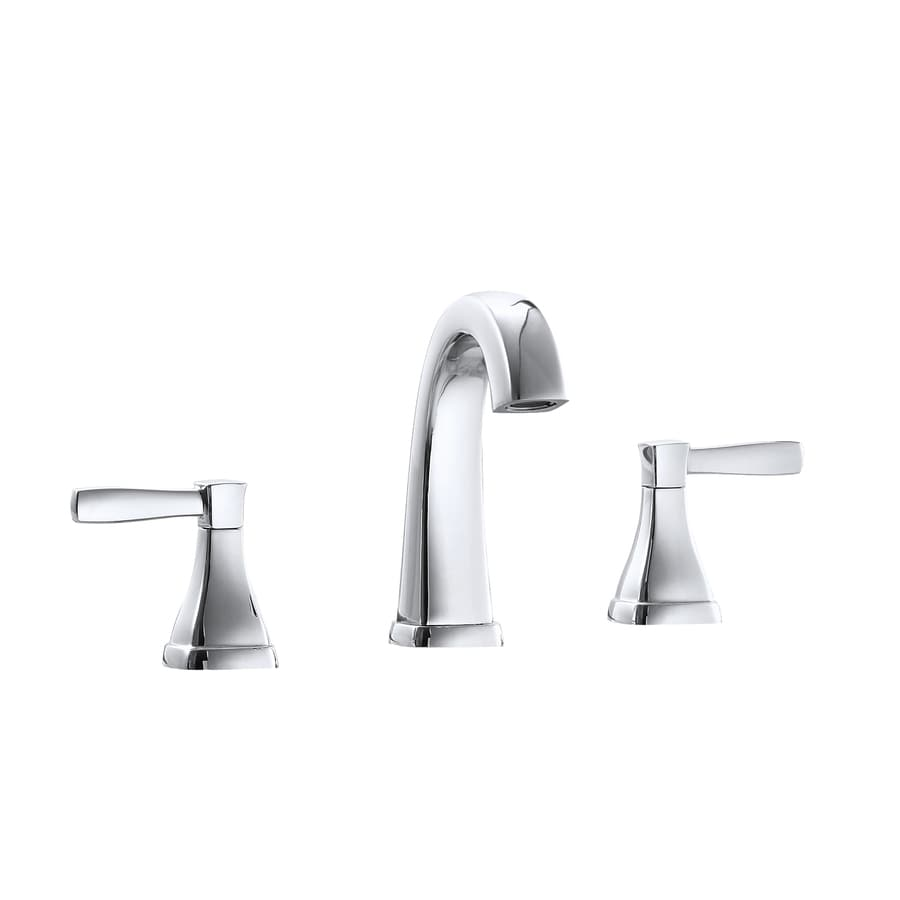 Avanity Chrome Polish 2-Handle WaterSense Commercial Bathroom Faucet (Drain Included)