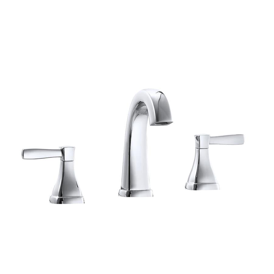 Avanity Chrome Polish 2-handle Widespread Bathroom Sink Faucet