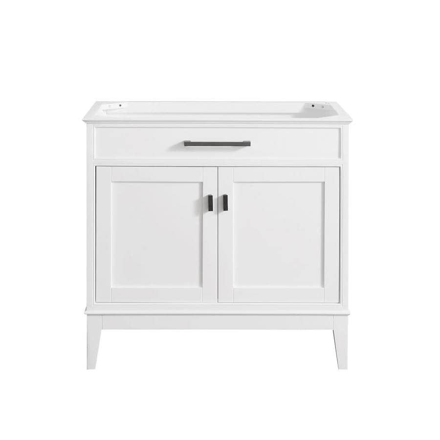 Avanity Madison White Transitional Bathroom Vanity (Common: 36-in x 21-in; Actual: 36-in x 21-in)