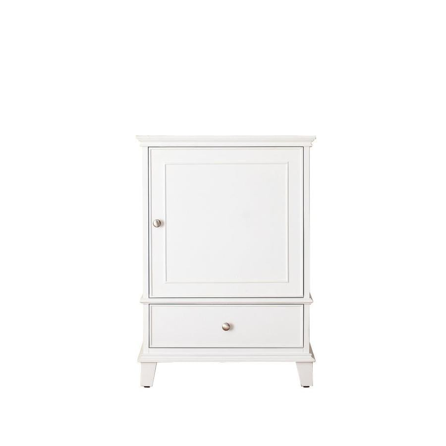 Bathroom Vanity 24 X 21 shop avanity windsor white transitional bathroom vanity (common