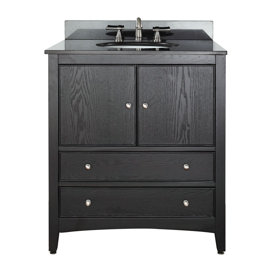 Avanity Westwood Ebony 30-in Casual Bathroom Vanity