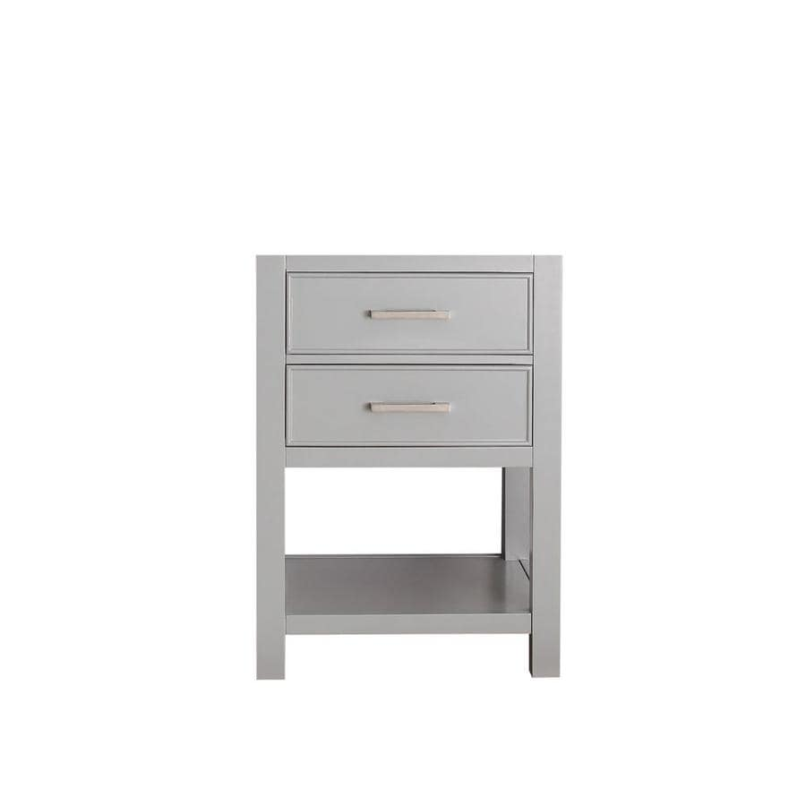 Avanity Brooks 24 In Chilled Gray Bathroom Vanity Cabinet At Lowescom