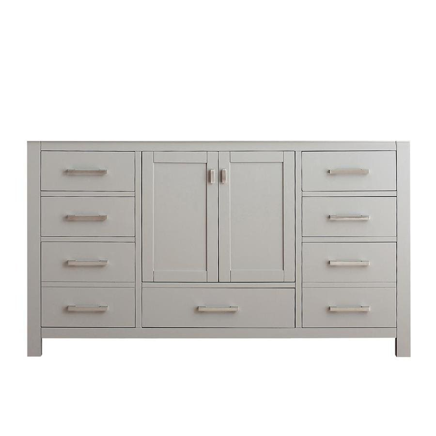 Avanity Modero Chilled Gray 60-in Traditional Bathroom Vanity