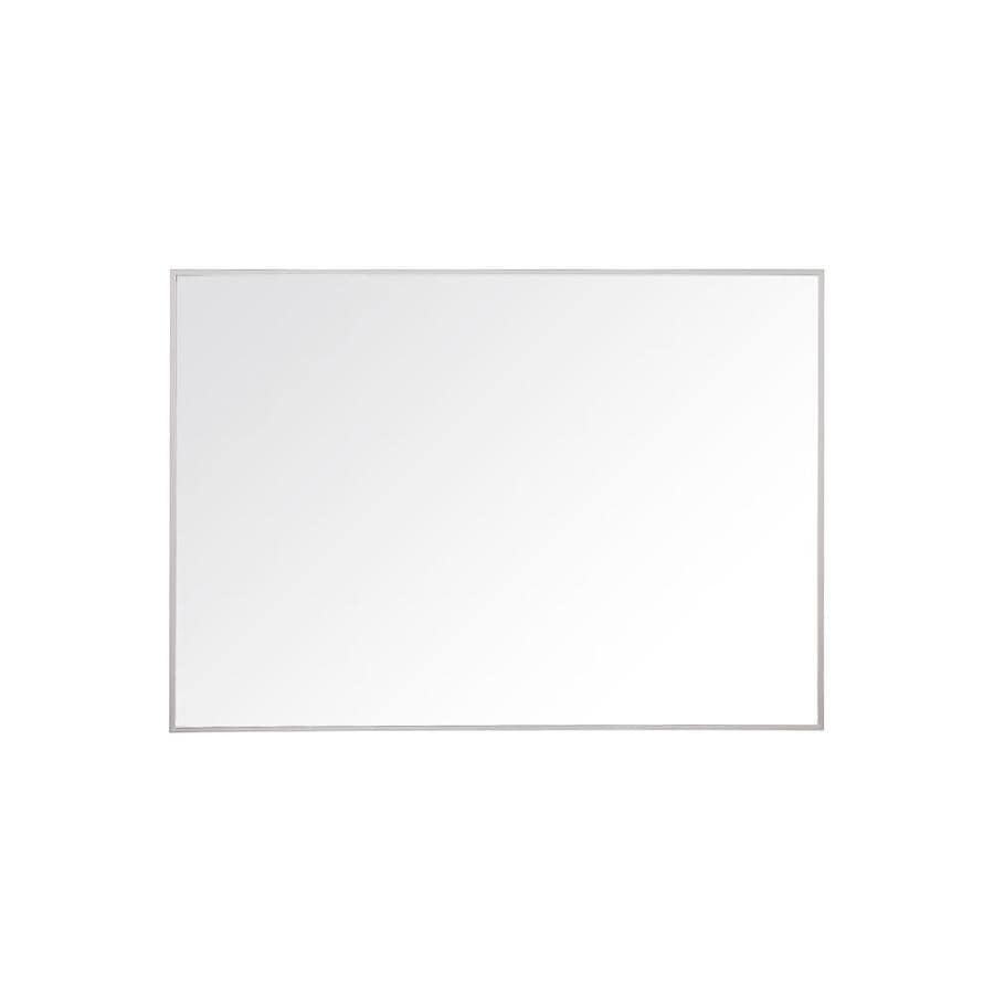 Avanity Sonoma 39-in W x 27.6-in H Matte White Rectangular Bathroom Mirror