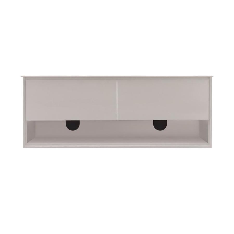 Avanity Sonoma White (Common: 60-in x 20-in) Contemporary Bathroom Vanity (Actual: 62.6-in x 20.3-in)