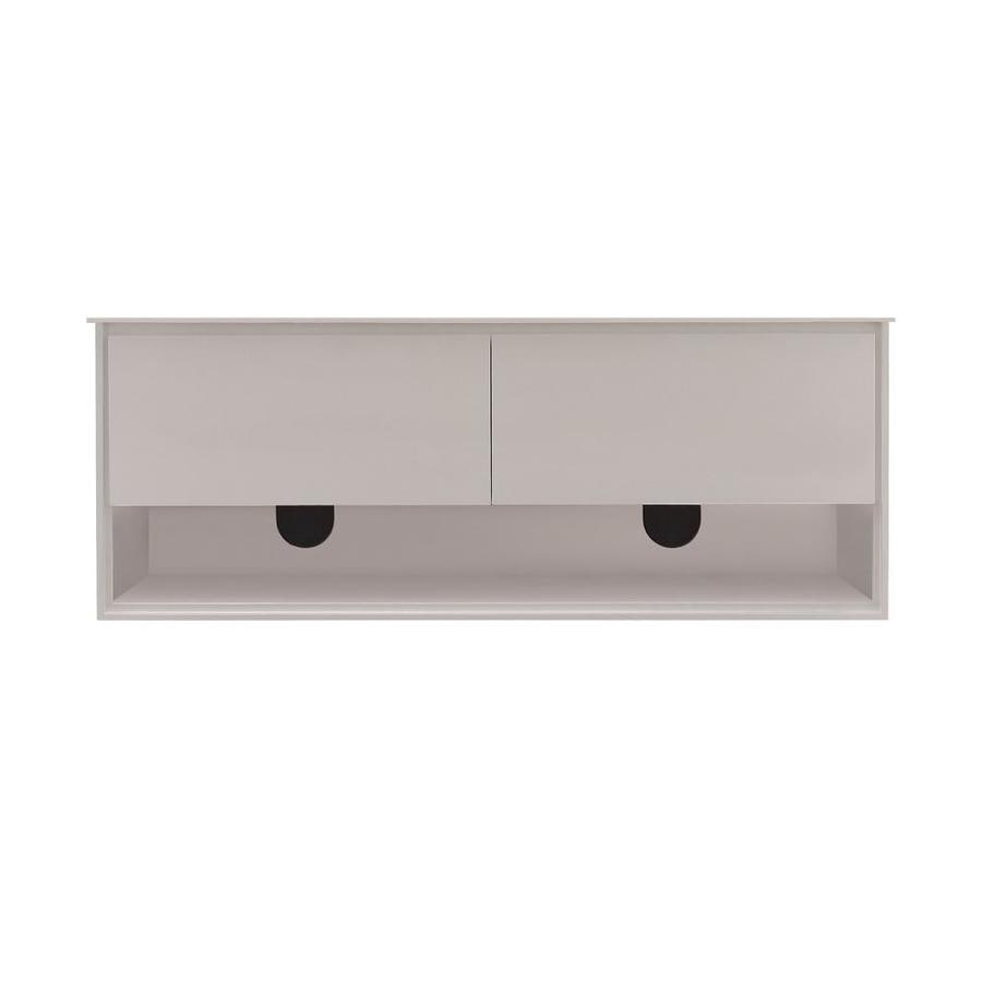 Avanity Sonoma Wall-mount White Bathroom Vanity (Common: 60-in x 20-in; Actual: 62.6-in x 20.3-in)