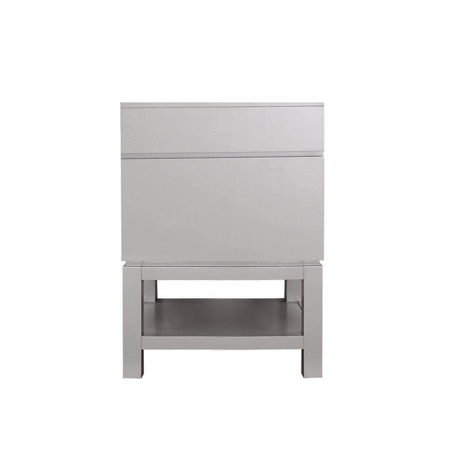 Avanity Tribeca Chilled Gray 24-in Contemporary Bathroom Vanity