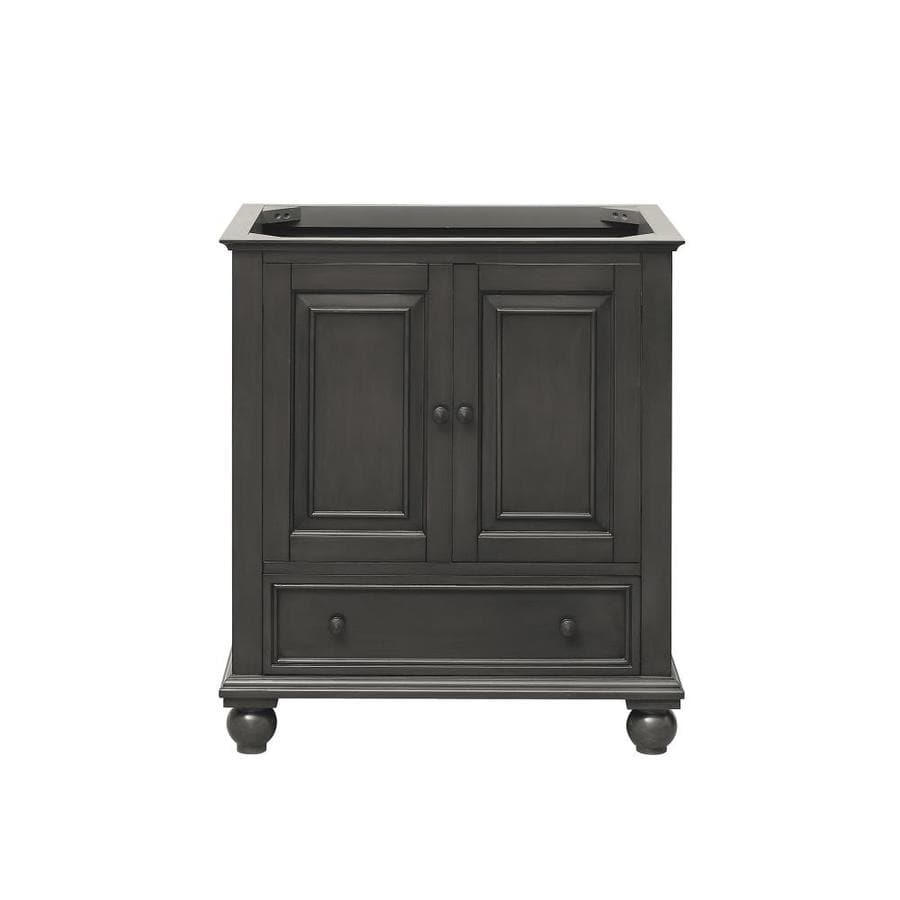 Avanity Thompson Freestanding Charcoal Glaze Bathroom Vanity (Common: 30 In X  21