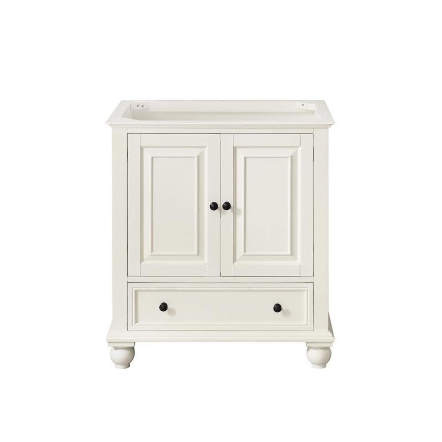 Avanity Thompson Freestanding French White Bathroom Vanity (Common: 30 In X  21