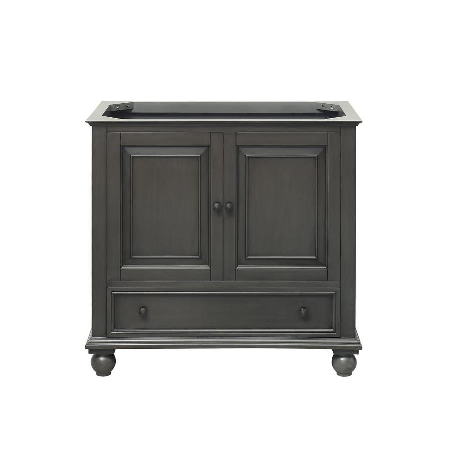 Avanity Thompson Freestanding Charcoal Glaze Bathroom Vanity (Common: 36-in x 21-in; Actual: 36-in x 21-in)