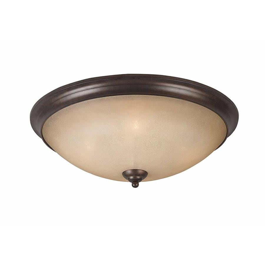 Stepanov 23-in W Bronze Standard Flush Mount Light