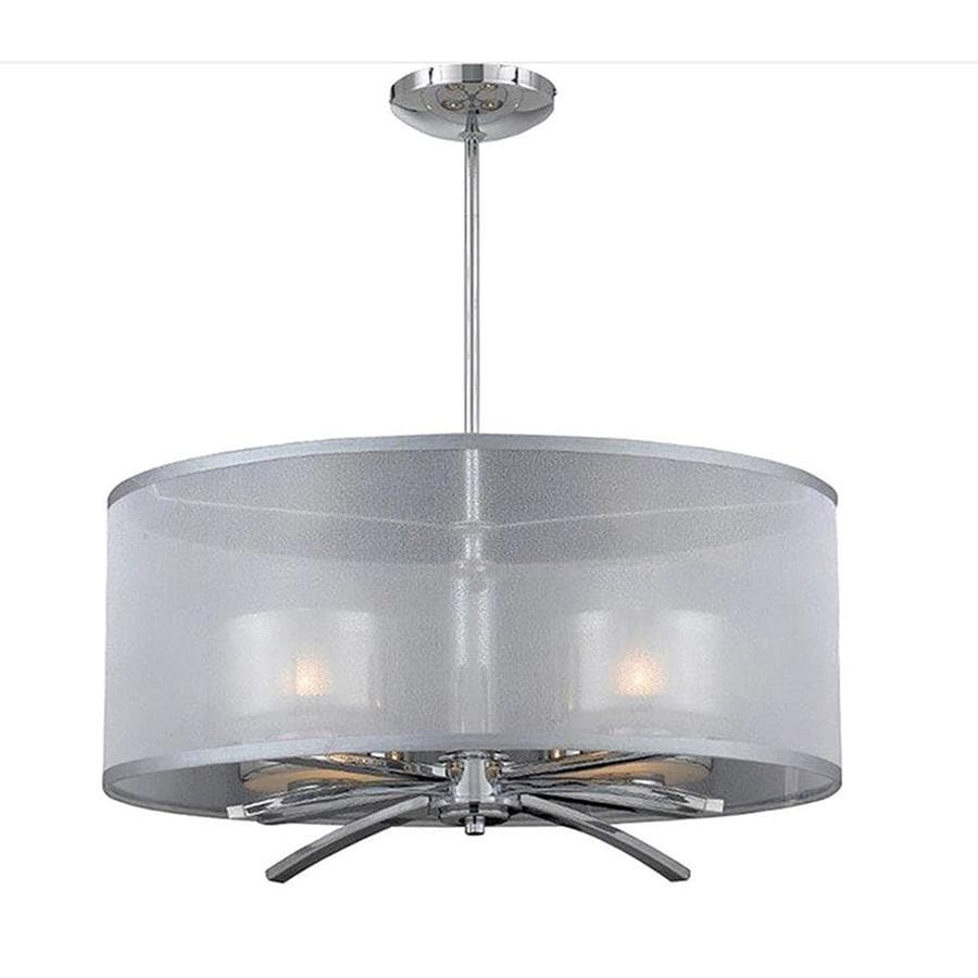 Arria 22-in Chrome Single Pendant