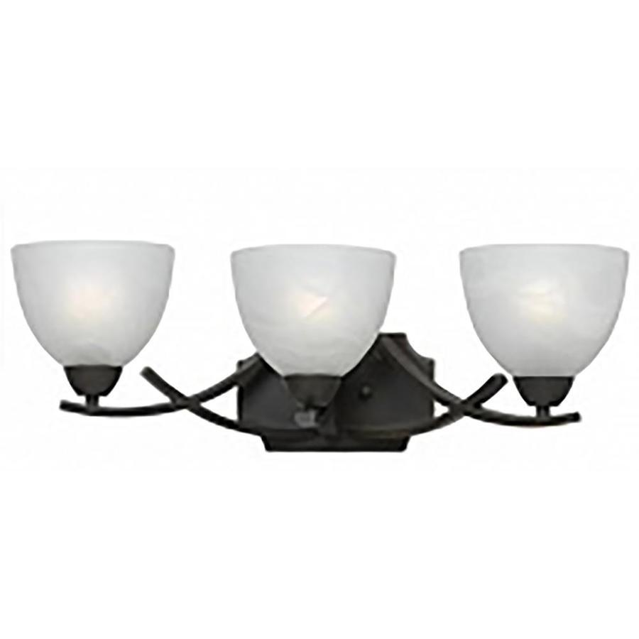 Candace 3-Light 8-in Bronze Vanity Light