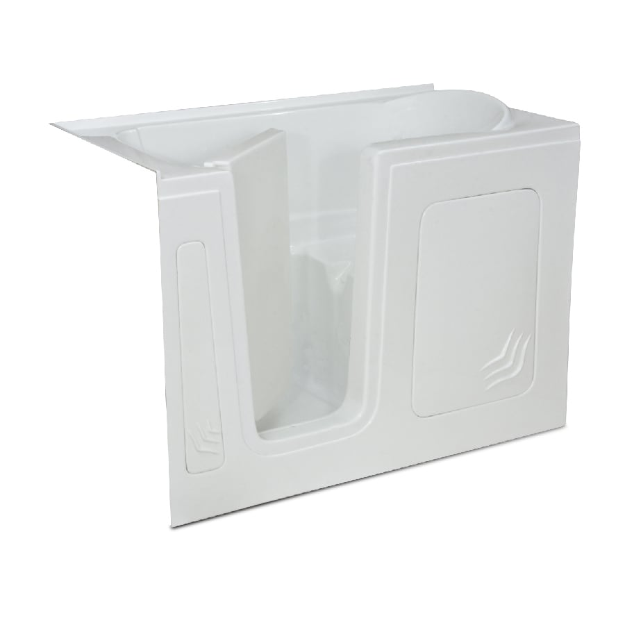 Endurance Acrylic Rectangular Walk-in Bathtub with Left-Hand Drain (Common: 32-in x 60-in; Actual: 40-in x 32-in x 60-in)