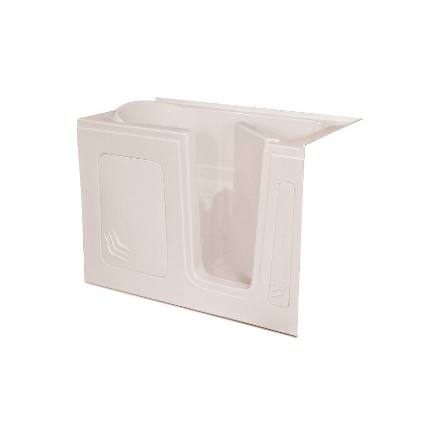 Endurance Acrylic Rectangular Walk-in Bathtub with Right-Hand Drain (Common: 32-in x 60-in; Actual: 40-in x 32-in x 60-in)
