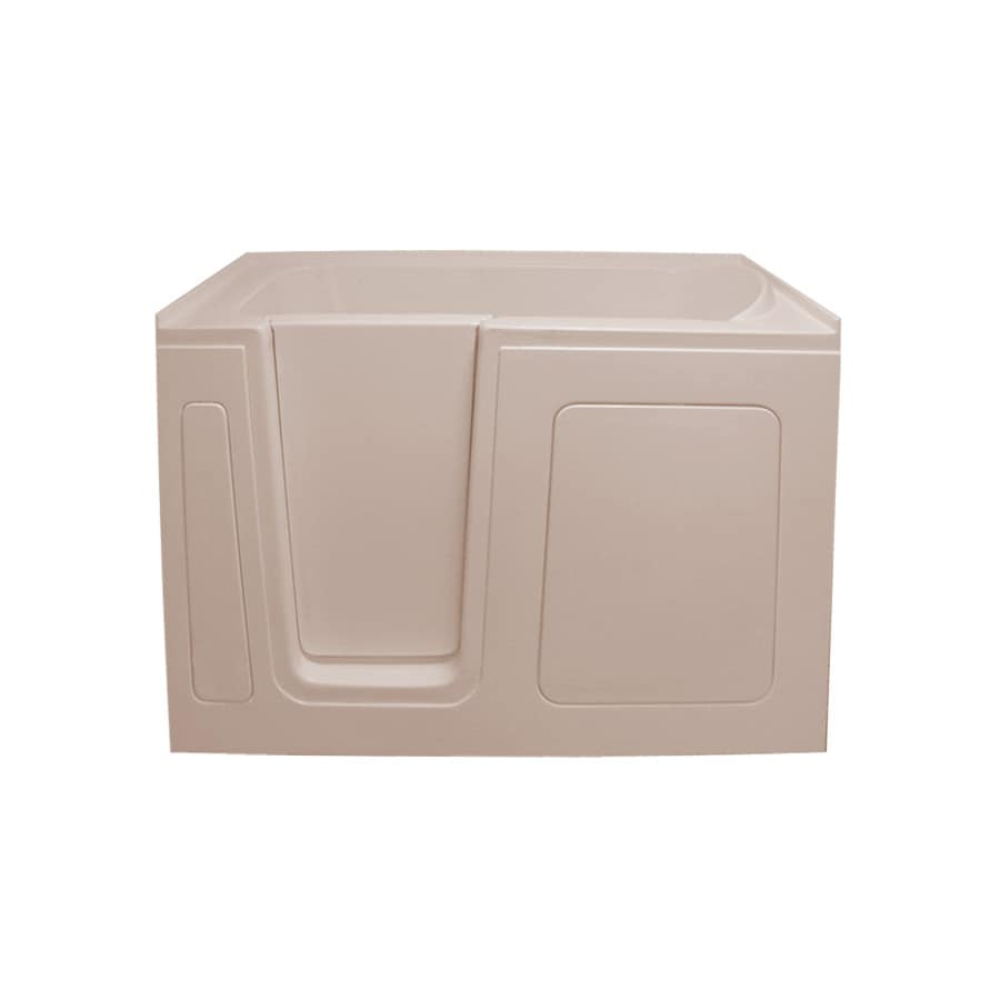 Endurance Acrylic Rectangular Walk-in Bathtub with Left-Hand Drain (Common: 30-in x 54-in; Actual: 38-in x 30-in x 54-in)