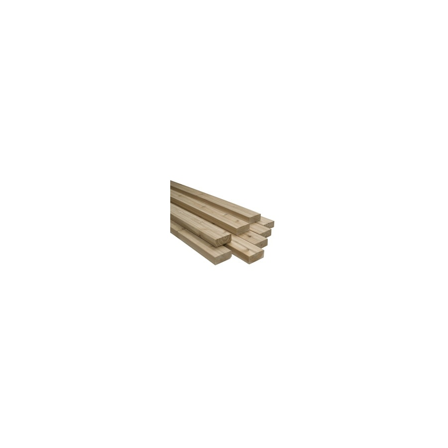 Top Choice 1-1/2-in x 7-1/4-in x 96-in Redwood Construction-Common S4S Lumber