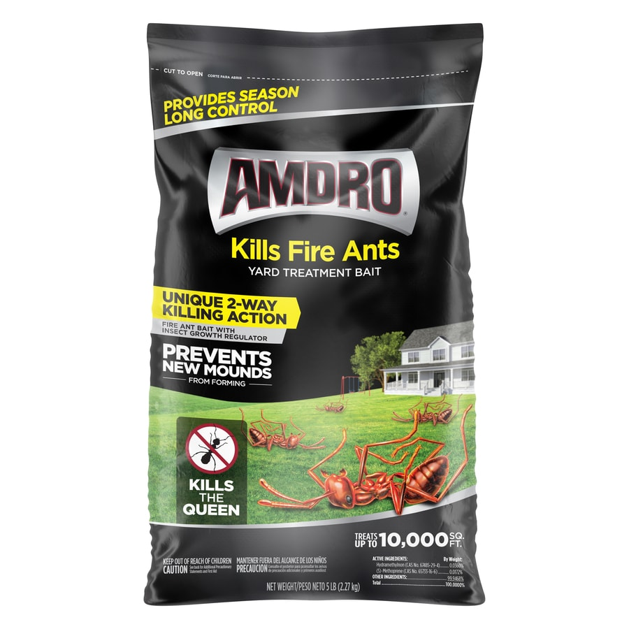 AMDRO Yard Treatment 5-lb Fire Ant Bait