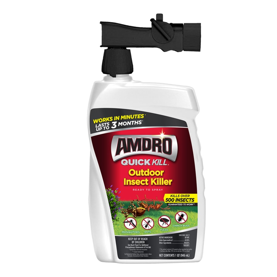 AMDRO Quick Kill Outdoor Rts 32-Quart Insect Killer