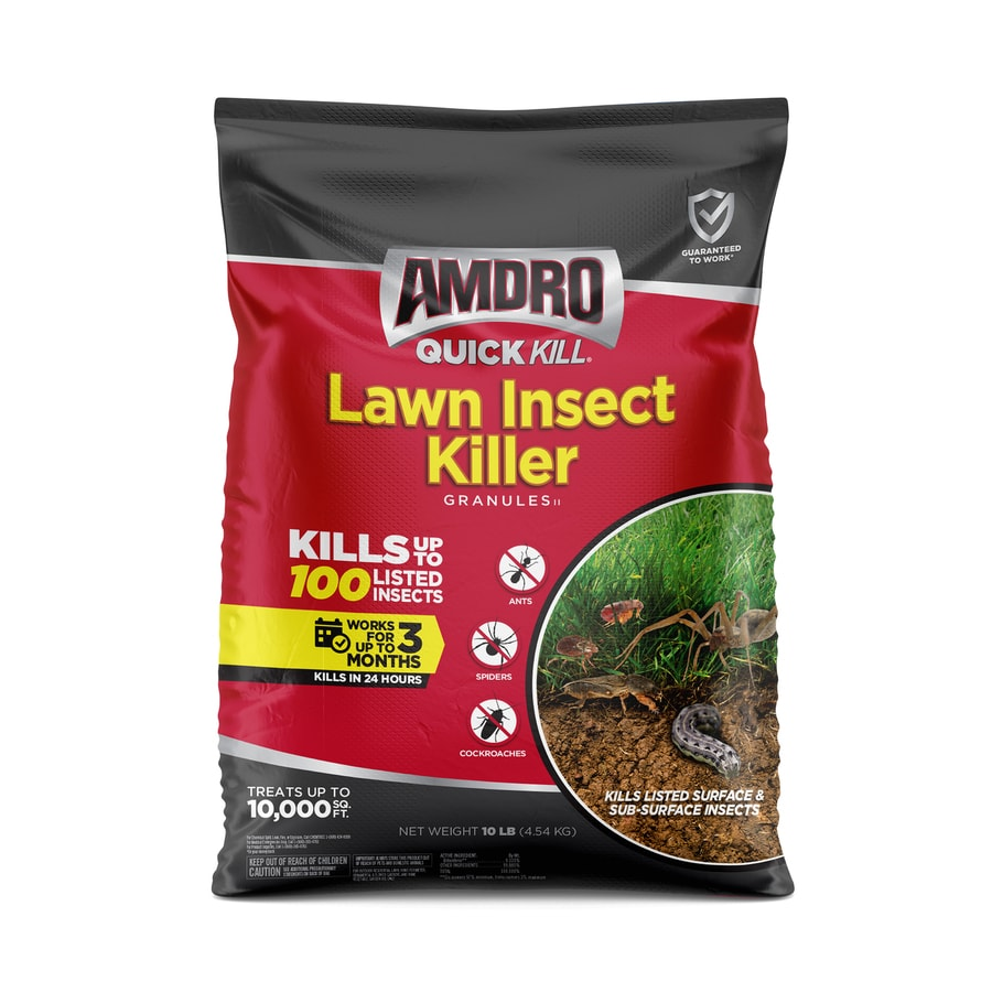 AMDRO Quick Kill Outdoor 10-lb Lawn Insect Control