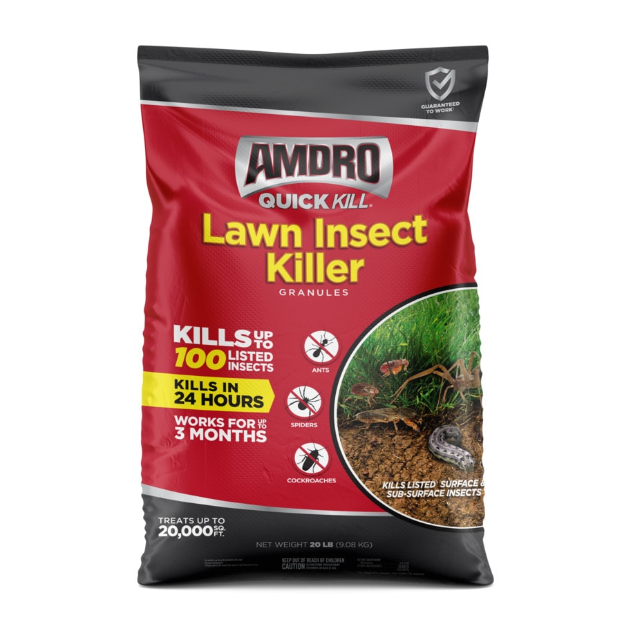 AMDRO Quick Kill Outdoor 20 Pound(S) Lawn Insect Control