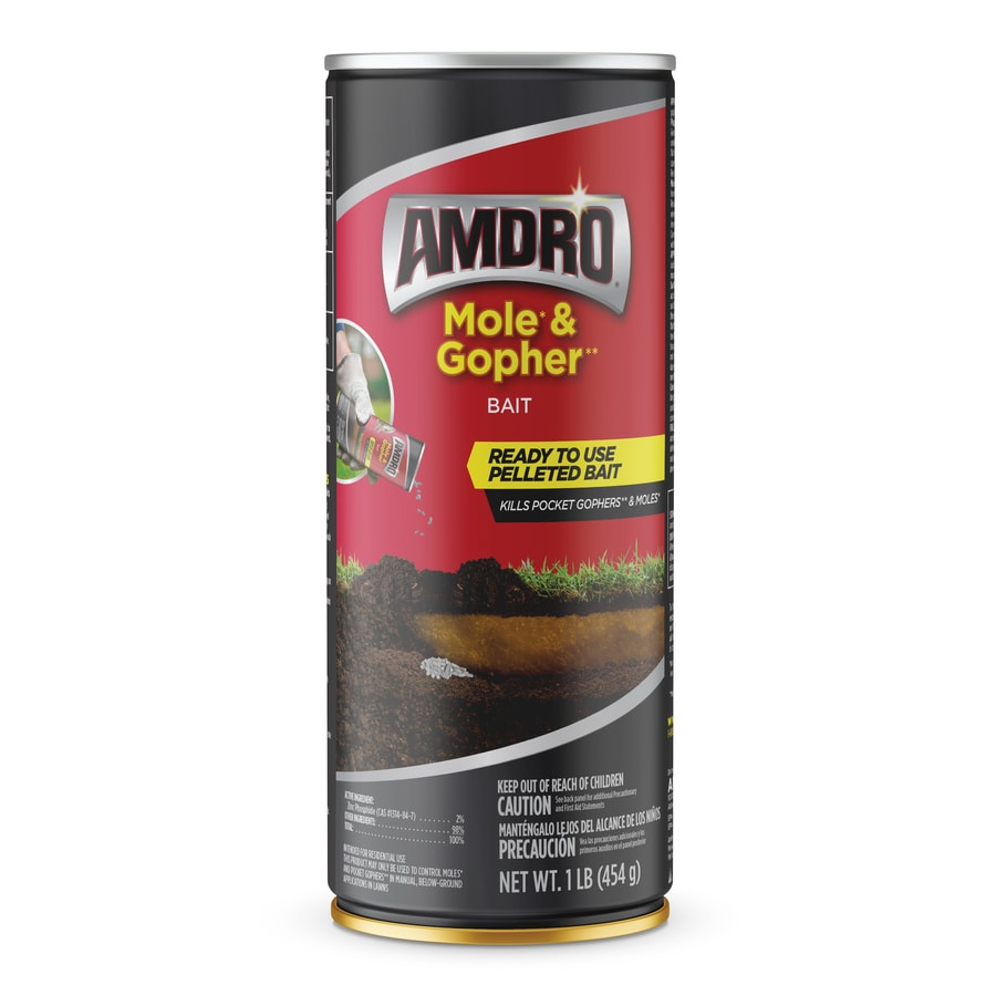AMDRO Mole and Gopher 1-lb Gopher Killer